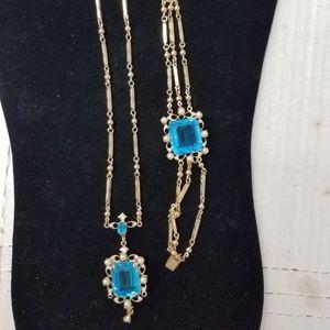 Vintage necklace & Bracelet set